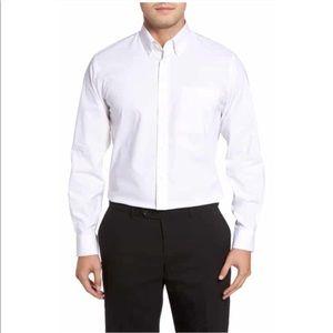 [Grey] Nordstrom smart wrinkle free button shirt